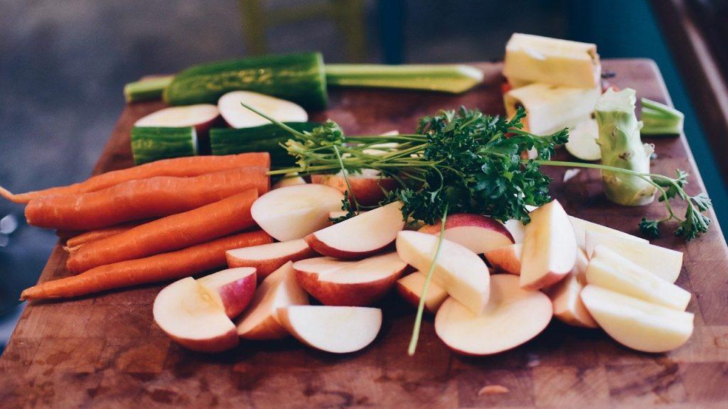 food, salad, raw