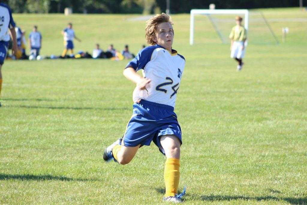 soccer, ball, throw